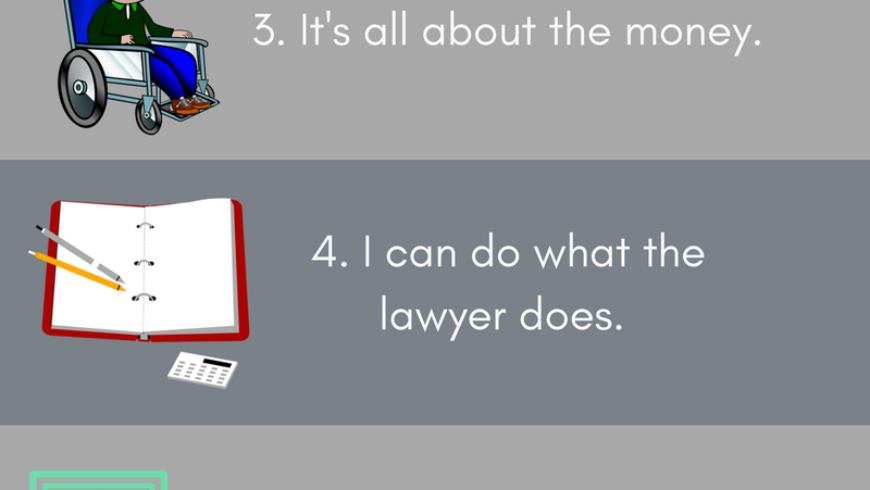 Top 7 Misconceptions About Personal Injury Lawyers